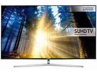 55'' SAMSUNG SMART 4K SUHD HDR QUANTUM LED TV.2017 MODEL UE55KS8000. FREESAT HD.FREE DELIVERY/SETUP