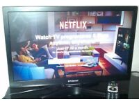 "22"" Polaroid LED smart tv with Freeview 2xHDMI 2xUSB VGA Good quality. Can deliver"