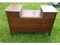 Wooden Dressing Table/Drawer with 4 Drawers - No mirror