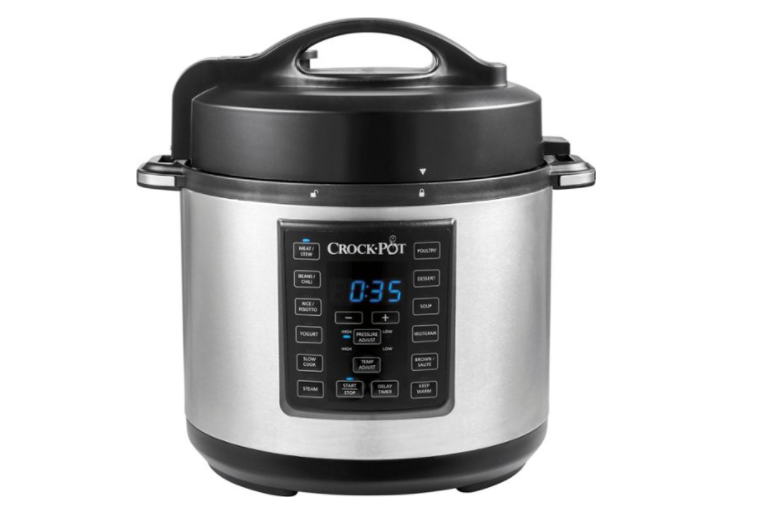 Crock-Pot - Express Crock 6-Quart Pressure Cooker Multi-cook