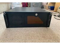 """19"""" rack mount PC case. Ideal for music audio DAW workstation."""