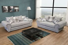 FREE DELIVERY ON THESE BRAND NEW VERONA SOFA'S, **MATCHING FOOT STOOLS AVAILABLE **