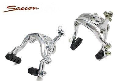 Coppia Freni a Ganascia SACCON in Alluminio per Bici 26