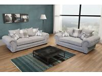 Brand new verona fabric sofa collection, available in a 3+2 set or corner suite for £729.99