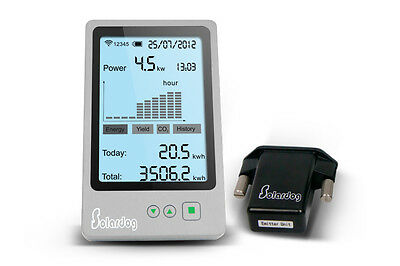 This is a simple solar monitor for JFY inverters