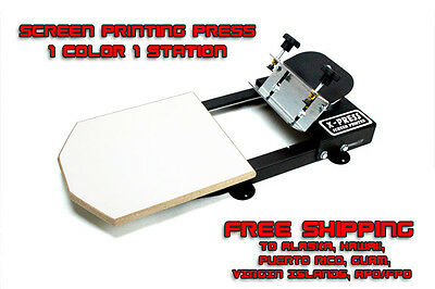 Silk Screen Printing Press Machine - Free Sh To Ak Hi Pr Gu Vi Apofpo