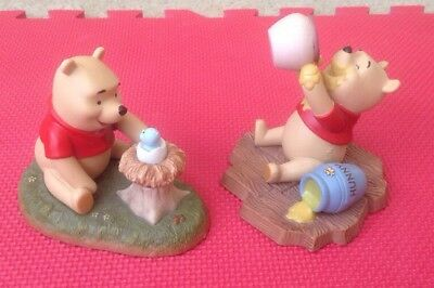 Disney Winnie the Pooh and Friends Figures Welcome, Little One & Life Is Sweet