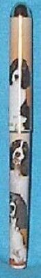 CLEARANCE..Rollerball SPRINGER SPANIEL II Dog Breed Writing Black Ink Pen Dog Breeds Springer Spaniel