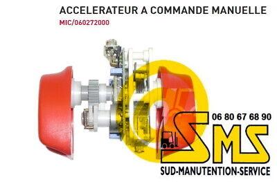 Inversor Acelerador MIC 060272000 Carretilla Transpaleta Eléctrico Variador