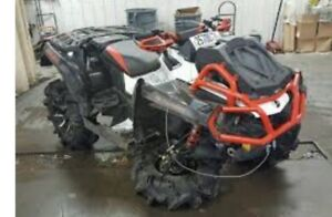 Looking to buy G2 can am renegade or outlander