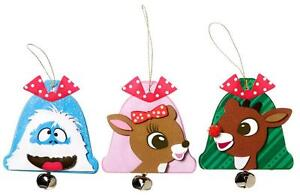 Girl-RUDOLPH-Red-Nosed-Reindeer-XMAS-ORNAMENTS-Kit-Scouts-Makes-12-church-group