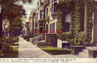 19 9 North State Street Looking South From Lincoln Park  Chicago  Ill