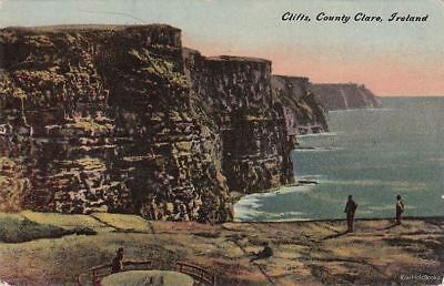 Postcard Clifts County Clare Ireland