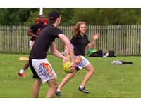 Play Tag Rugby (Oztag) in London this Summer