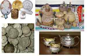 Collectors Buying Estates, Gold, Coins, Silver, Jewellery +