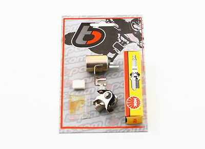 HONDA ATC70 TUNE UP KIT Spark Plug Points Condenser Fits All Years