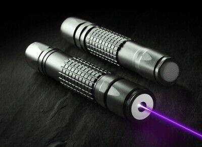 5mw Purple Blue High Power High Power Laser Pointer Pen Beam Light Visible New