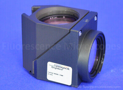 Semrock Brightline Txred Dichroic Filter Cube Olympus Fluorescence Microscope