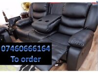 Beautiful 3 and 2 Seater Recliner Sofa -3837165