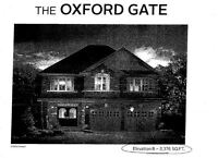 The OXFORD GATE-2 garage detached house