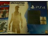 Limited edition ps4 plus 8 games