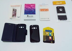 I-Phone 6 & Samsung cover & protector