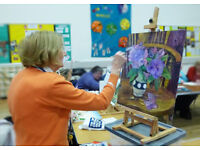 FREE ART CLASSES FOR OLDER PEOPLE