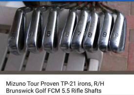 Mizuno tp 21 golf irons