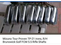 Mizuno tp 21 golf irons