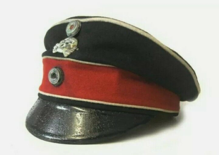 Ww1 German  Crusher Cap  customize piping colour  style and Cap colours replica