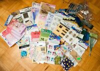 Tons of Crafting Cardmaking Scrapbooking Doodads (New)