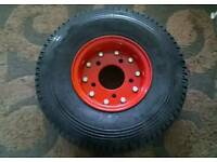 Trailer wheel with tyre very good as new