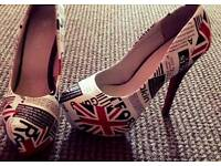 Gorgeous Unusual Shoes Size 6 Brand New