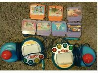 Vtech smile games and 2 controllers