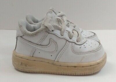 Nike Air Force 1 '06 White Low Toddler Sneakers (314194-117) SIZE 4C