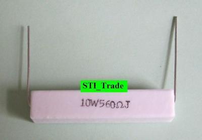 10 Watt 10w Resistors 560 Ohm 5 1 10w Resistor On Sale