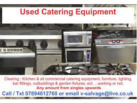 Wanted - African & European shippers / Exporters - We Sell used commercial catering equipment