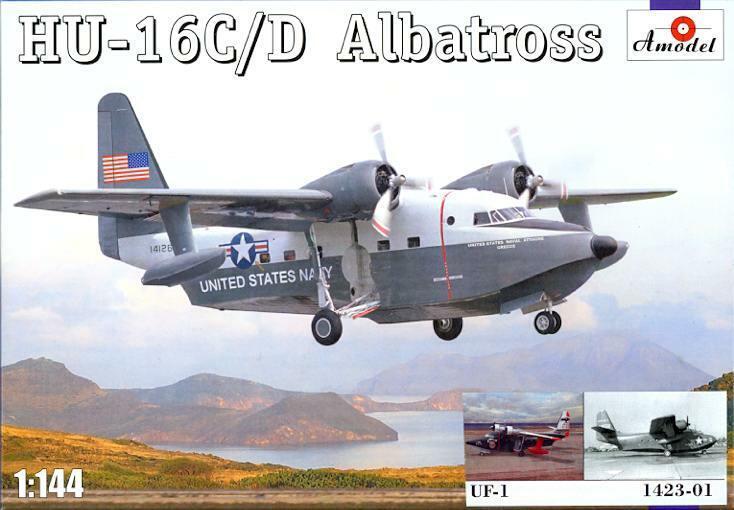 Amodel 1/144 GRUMMAN UF-1 ALBATROSS U.S. Navy Amphibian