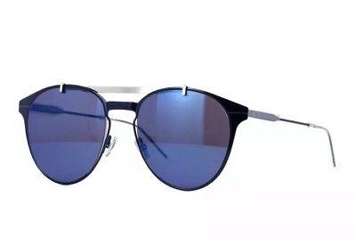 Christian Dior Homme MOTION 1 PJP XT Dark Blue Silver Mirror Men Sunglasses (Christian Dior Sunglasses For Men)