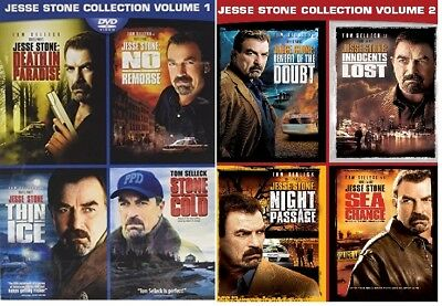 Купить Jesse Stone: Complete 8 Movie Collection Tom Selleck DVD Bundle Set BRAND NEW