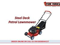 BRIGGS & STRATTON 16in Steel Deck Petrol Lawnmower 3hp