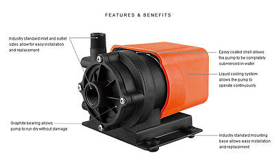 SeaFlo Marine 500 GPH Air Conditioner Magnetic Drive Circulation Pump 115V Boat
