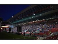 2 Anfield Screening Tickets (Liverpool vs Real Madrid)