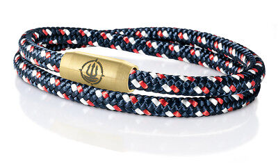 Mann Arm (Seemannsgarn _ Maritimes Segeltau Armband