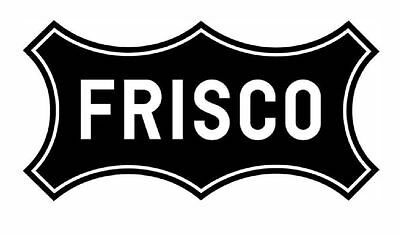 Frisco Railway Railroad TRAIN Sticker / Decal R716 YOU CHOOSE SIZE (Train Stickers)