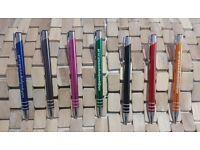 Promotional / Personalised Metal Barrel Pens - UK Stock, FREE UK Delivery & Design Support