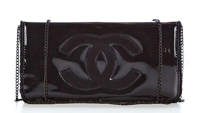 New Chanel VIP Gift Black Wallet Chain cross shoulder make up  Bag USA Seller