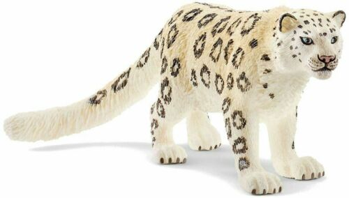 <><  14838 Snow Leopard  Sweet strong Schleich Anywheres a Playground