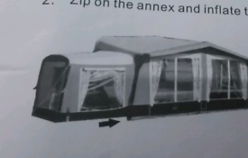 CAMPTEC AIR AWNING + ANNEX 900 - 925 size 11 OVNO