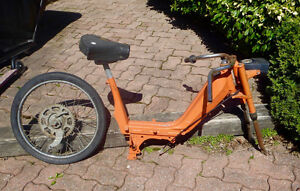 Vintage motorized bike frame / parts